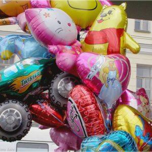 3. Фольгированные гелиевые шары