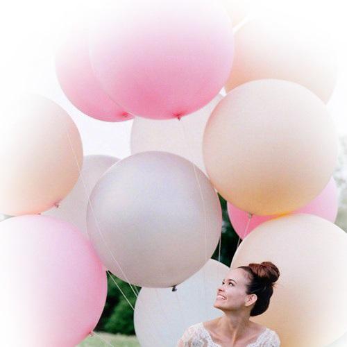 4. Огромные гелиевые шары