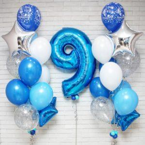 Шары в день рождения