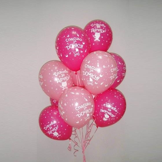 Воздушные шары на рождение